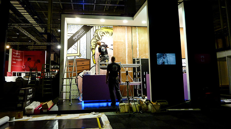 Exhibition Stand Agency : Exhibition stand design & marketing support fuga™ design